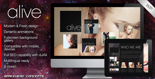 Alive - Creative WordPress Theme