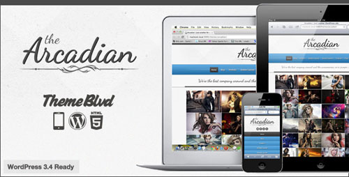 The Arcadian Responsive WordPress Theme