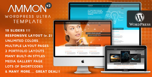 Ammon Theme for WordPress