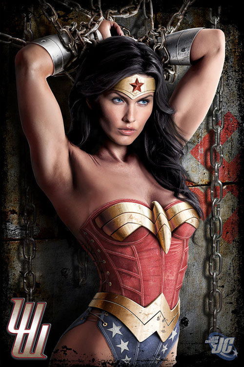 Wonder Woman in Chains