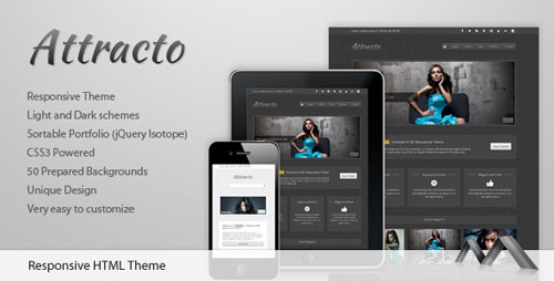 Attracto - HTML Responsive Theme