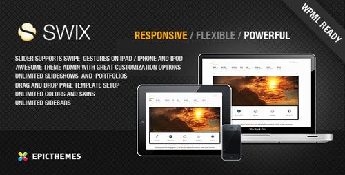 SWIX - Responsive WordPress theme