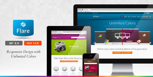 Flare - Responsive Business & Portfolio WP Theme