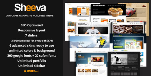 Sheeva - Multipurpose WordPress Theme