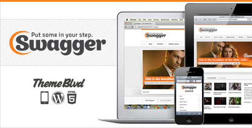 Swagger Responsive WordPress Theme