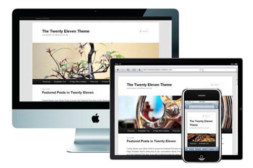 Twenty Eleven – Responsive WordPress Theme