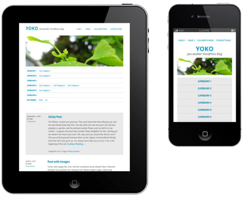 Yoko – Responsive WordPress Theme