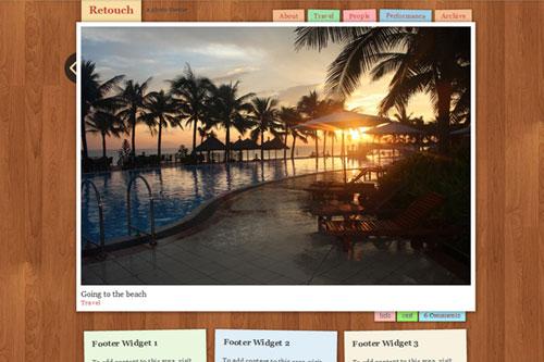 Retouch – Responsive WordPress Theme