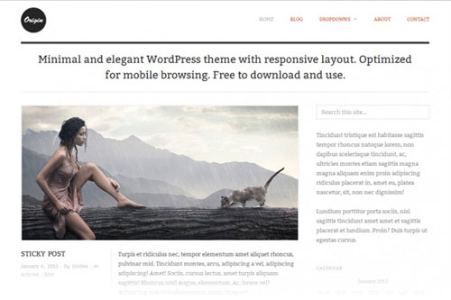 Origin – Responsive WordPress Theme