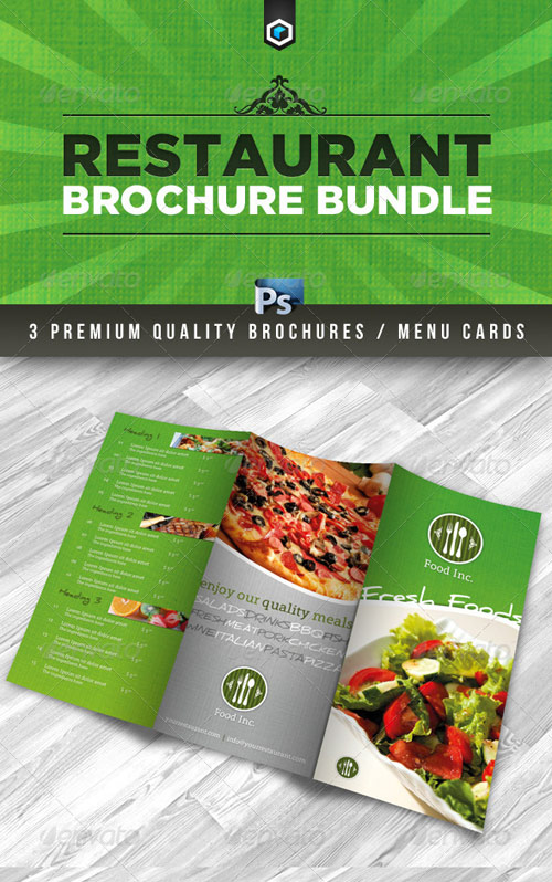 RW Premium Restaurant Brochure Bundle