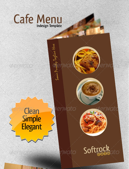 25 high quality restaurant menu design templates web graphic design bashooka. Black Bedroom Furniture Sets. Home Design Ideas
