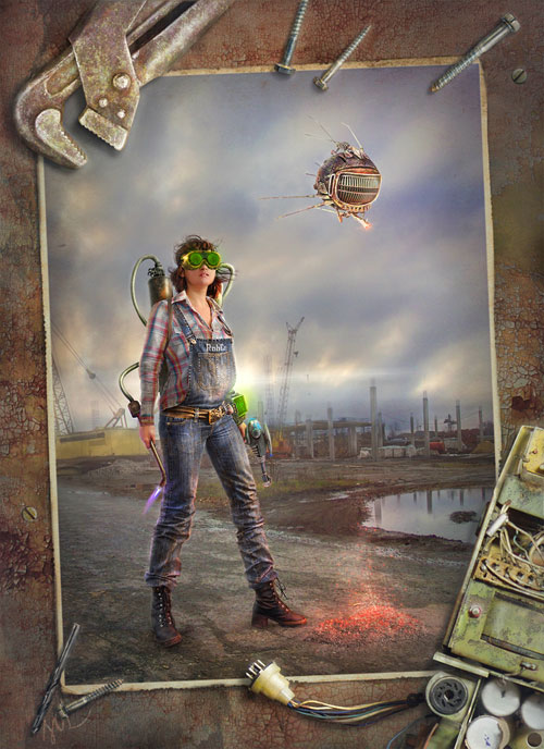 Wasteland engineer Fallout 3