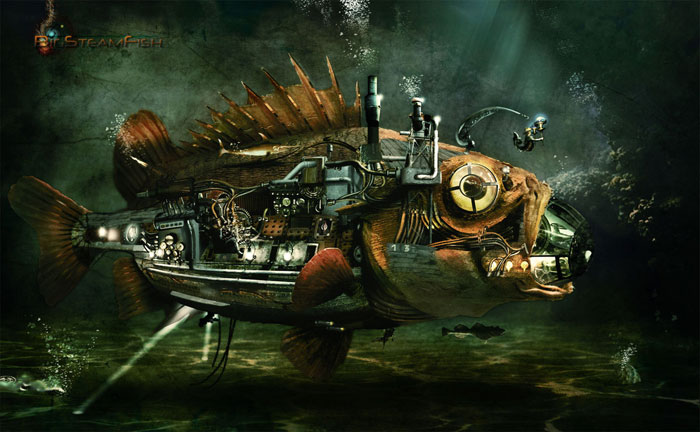 35 Stunning Steampunk Photo Manipulations