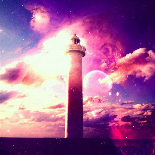 nebular lighthouse