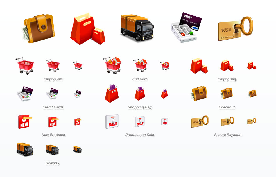25 Free Icons For E-Commerce Stores