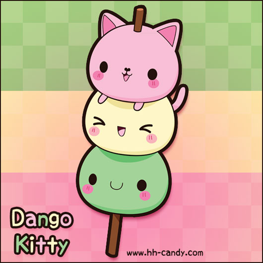 Hanami Dango Kitty