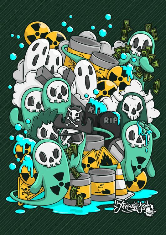 Radiation Waste