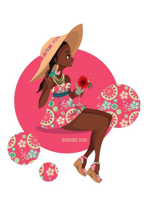 Caribbean Flower