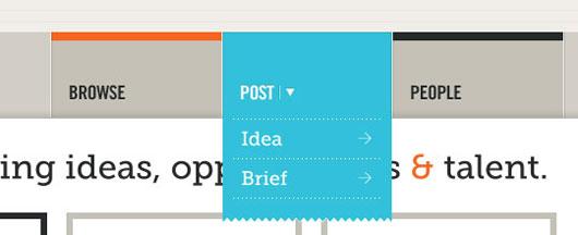 web navigation design