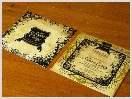 Creative and Inspirational Wedding Invitation Cards
