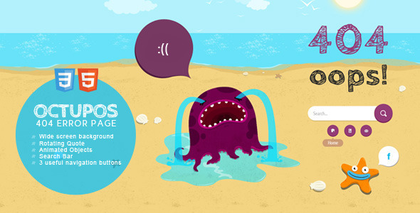 24 awesome 404 error page html templates web graphic design 404 error page template 23 maxwellsz