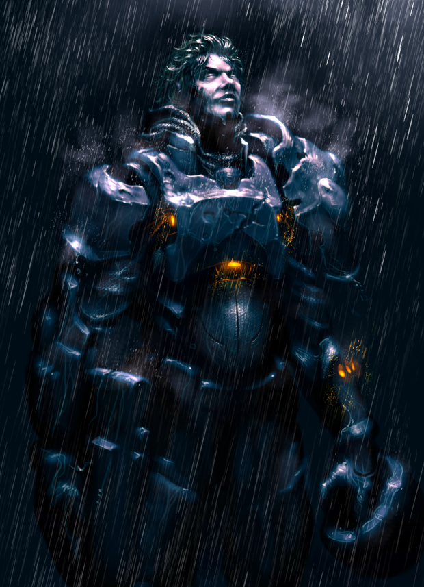 40 amazing video game character concept art