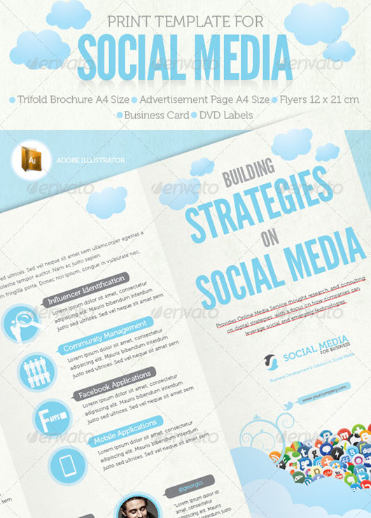 Social Media Print Template Packages (Vol. 2)