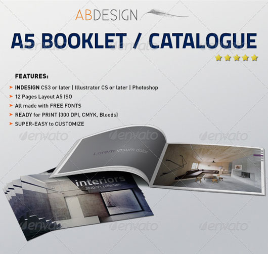 A5 Booklet / Catalogue