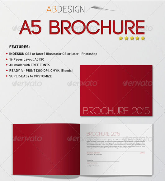 40 high quality brochure design templates web graphic design
