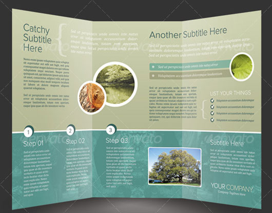 brochure template psd - 40 high quality brochure design templates web graphic