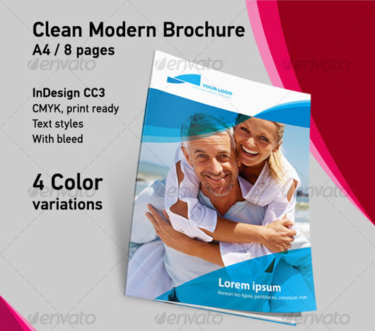 High Quality Brochure Design Templates Web Graphic Design - 8 page brochure template