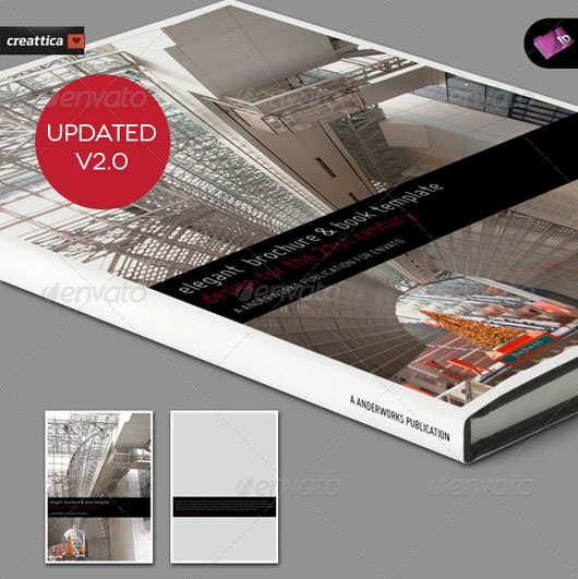 High Quality Brochure Design Templates Web Graphic Design - Elegant brochure templates