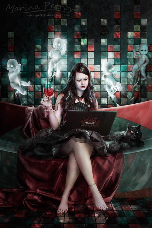 Draculas Bride Modern Edition