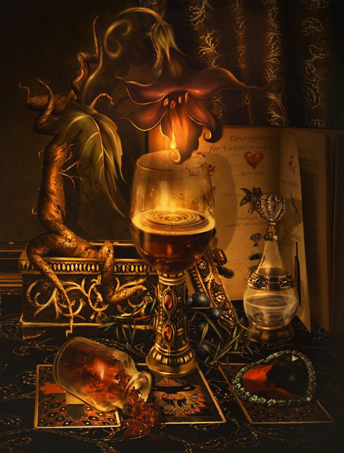 Mandrake potion for Valentine