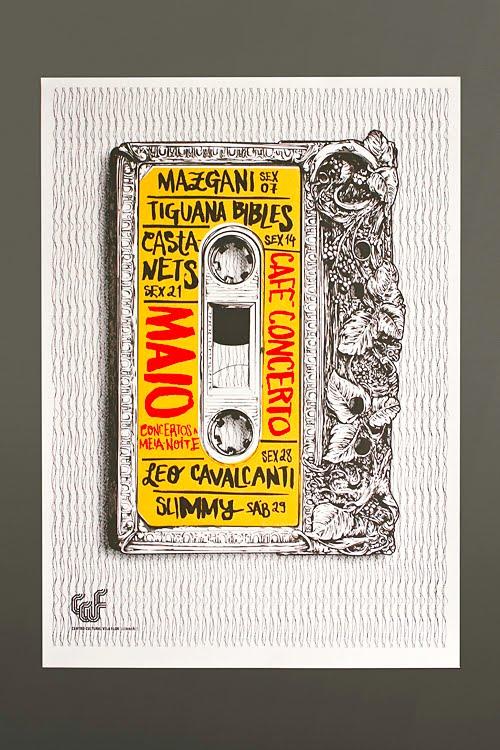 Silk Screened Poster Series