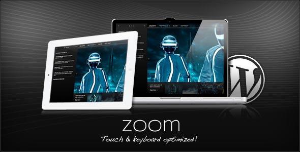 WordPress Zoom Portfolio + Blog