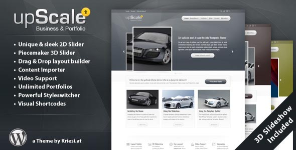 upScale - WordPress Business & Portfolio Theme