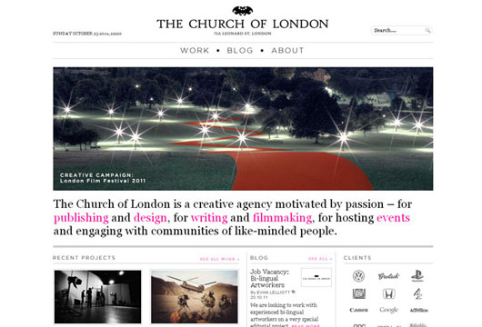 The Church of London – Creative Agency