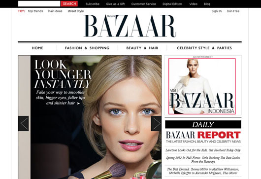 Harper's BAZAAR – Fashion Trends and Women's Fashion Shows