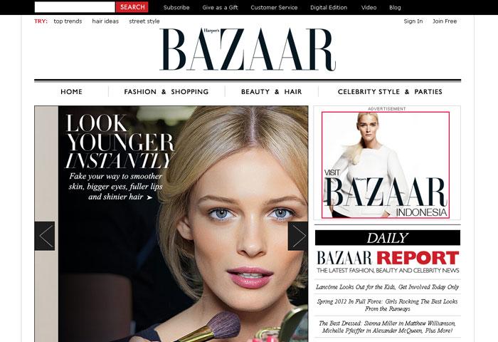 Magazine Web Design Inspiration
