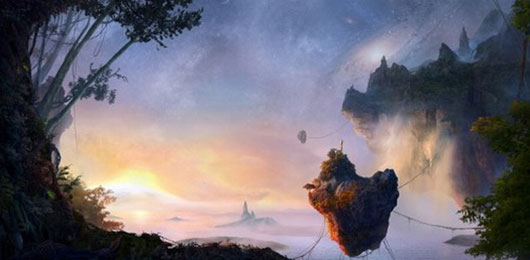 Incredible Avatar Inspired Matte Painting of Pandora