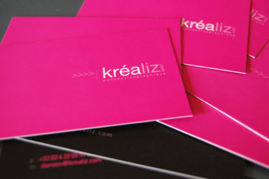 Krealiz Minimal Business Card