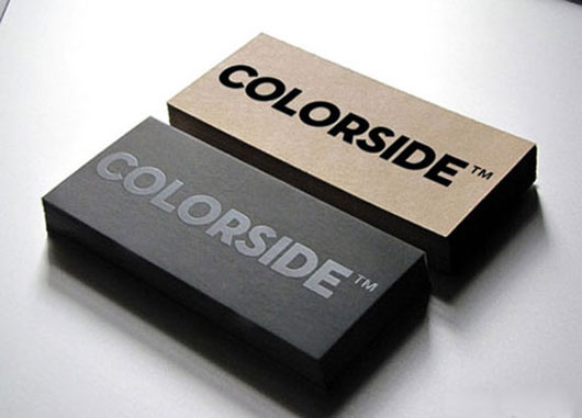 Colorside Minimal Business Card
