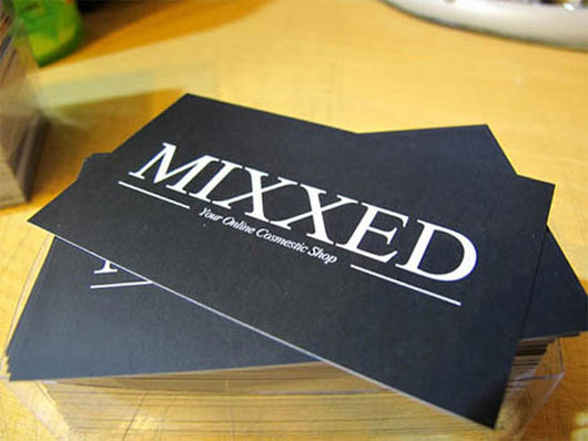 Mixxed Minimal Business Card