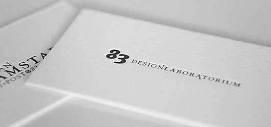 Minimalist business card 25 awesome examples web graphic i love letterpress reheart Gallery