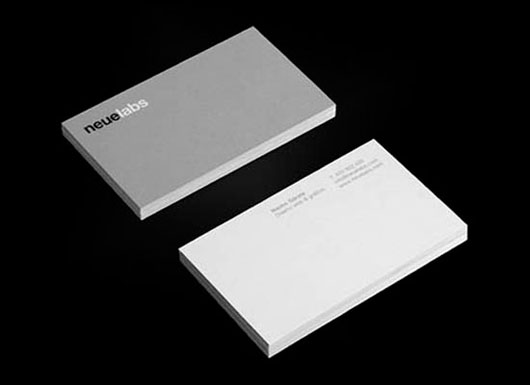 Neuelabs Minimalist Business Card