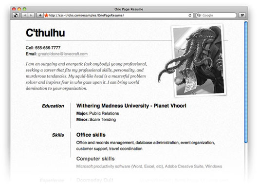35 best online cv resume templates web graphic design bashooka