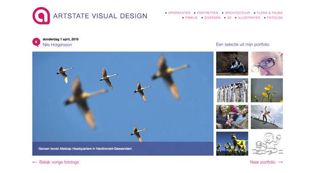 Artstate Visual Design