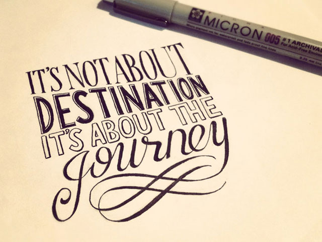 Hand Lettering Typography Inspiration : 25 Inspiring Examples