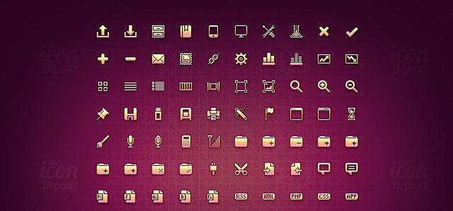 15 Awesome Mini Icon Sets